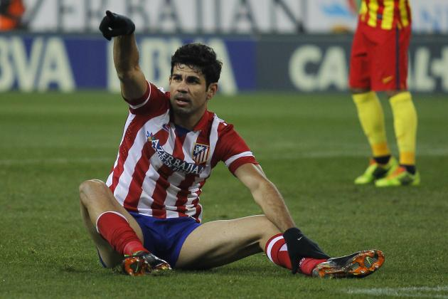 Chelsea Transfer News: Blues Reportedly Reach Verbal Deal for Diego Costa