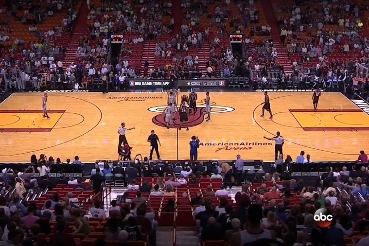 Heat Fans Do Nothing to Help Reputation with Poor Attendance Against Spurs