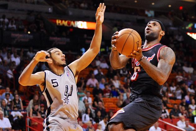 Spurs vs. Heat: Live Score, Highlights and Reaction