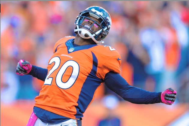 Mike Adams Says He'll Walk to Hometown If Broncos Win Super Bowl XLVIII
