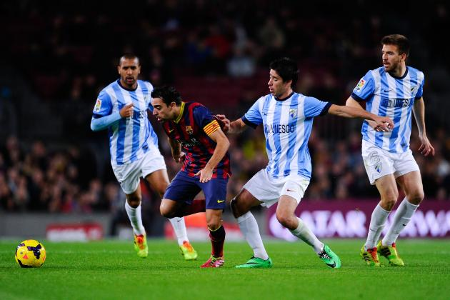 Barcelona vs. Malaga: La Liga Live Score, Highlights, Report