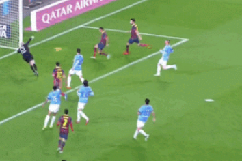 GIF: Alexis Sanchez Scores for Barcelona After Spectacular Team Buildup