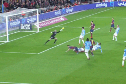 GIF: Pedro's Individual Effort Doubles Barcelona's Lead