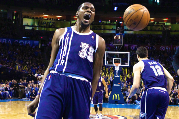 Breaking Down Kevin Durant's Scorching Scoring Streak by the Numbers