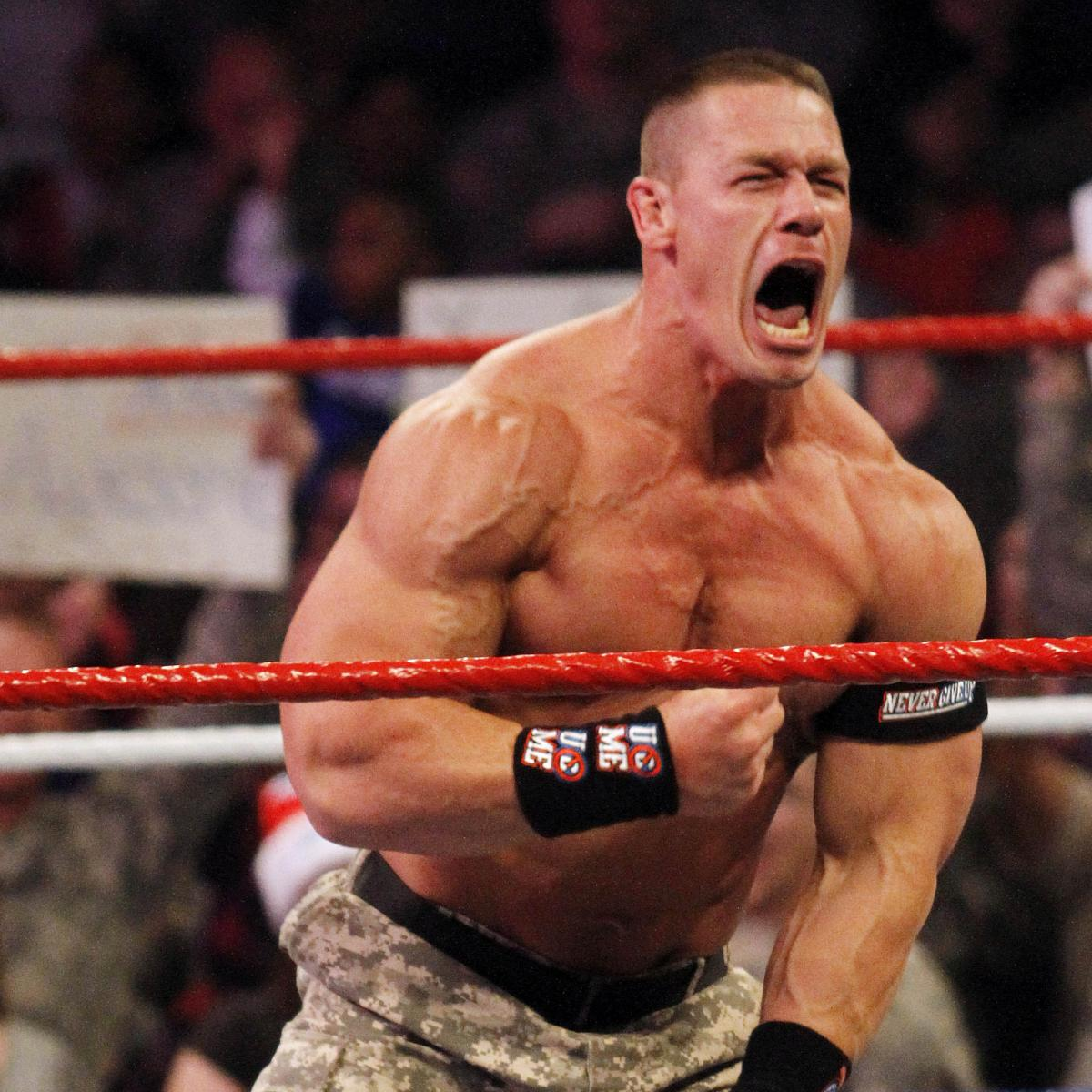John Cena vs. Randy Orton: WWE Title Match Will Disappoint ...  John Cena vs. R...