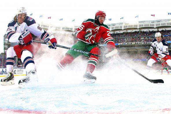 Rangers and Devils Deliver Memorable Outdoor Day Despite Delay and Complaints