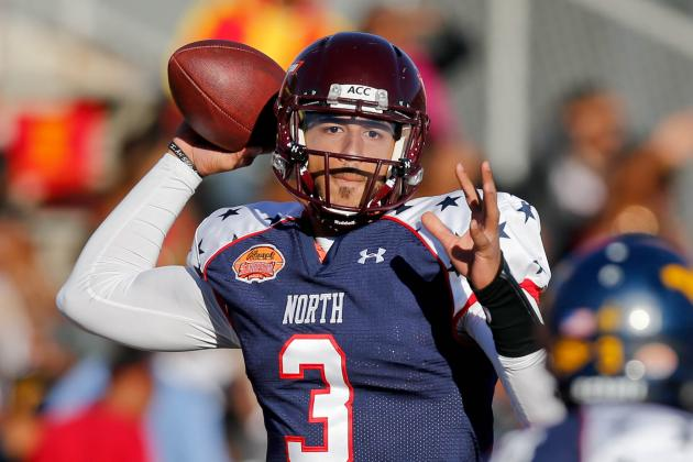 Logan Thomas Senior Bowl: Quarterback Misses Golden Opportunity to Improve Stock