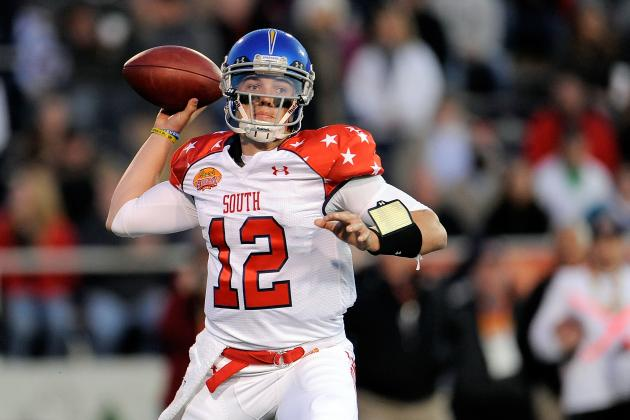 David Fales' Senior Bowl Performance Provides Boost to QB's Draft Stock