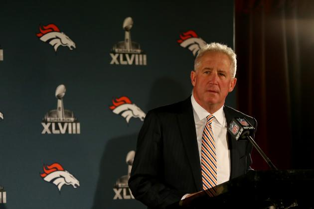 Denver Head Coach John Fox Fondly Recalls Time Spent with Giants