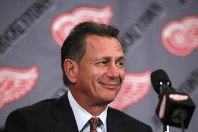 Is Detroit Red Wings GM Ken Holland Moving Away from Veteran Bias?
