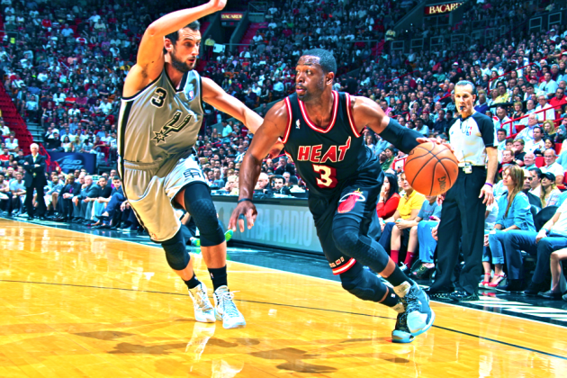 Dwyane Wade Sits at Start, Miami Heat Still Soar over the Spurs