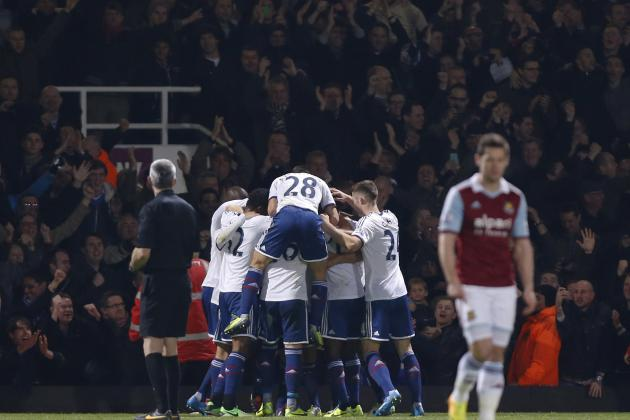 Chelsea vs. West Ham United: English Premier League Odds, Preview and Prediction
