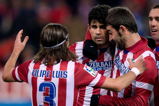 Manchester United Transfer News: Diego Costa, Filipe Luis Scouted by David Moyes