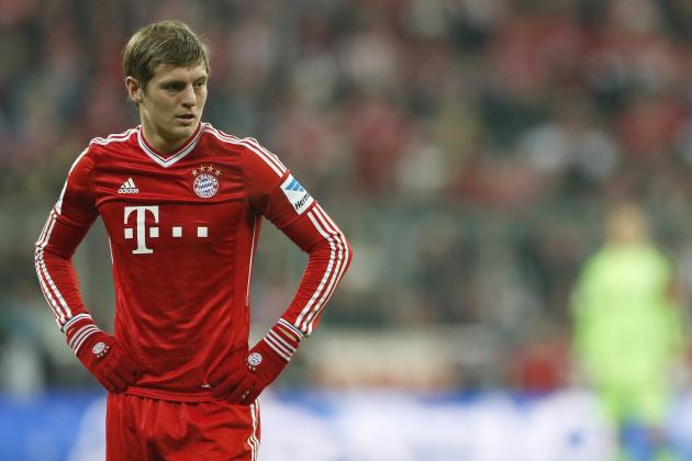 Manchester United Transfer News: Toni Kroos Delays New Bayern Munich Contract