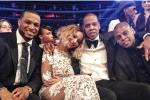 Cano Hangs at the Grammys with Jay-Z and Beyonce