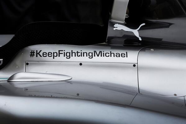 Mercedes Tease New F1 Car Release with Message of Support for Schumacher