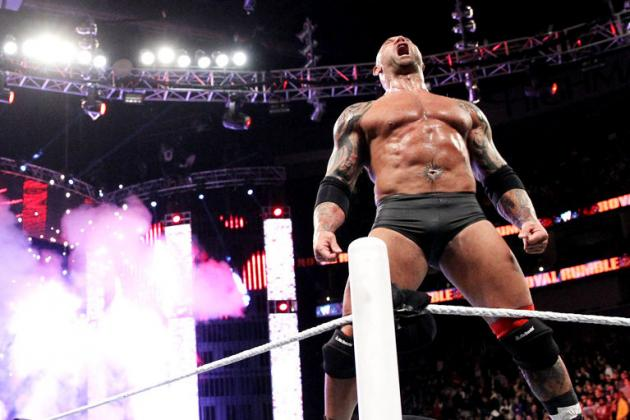 Grading Batista's Royal Rumble Peformance in First in-Ring Action Since Return