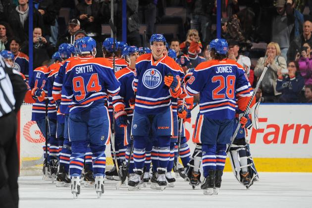 Oilers Beat Predators 5-1, Snaps 6-Game Skid