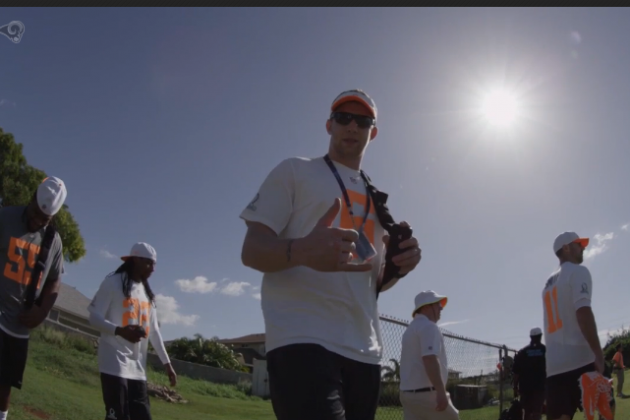 Wired: Johnny Hekker at Pro Bowl Practice