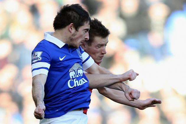Leighton Baines Signs New Everton Contract to End Manchester United Talk