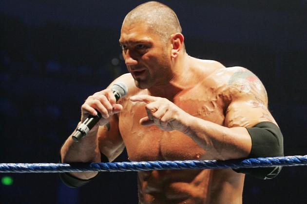 Batista Engages Fans After Royal Rumble, Mocks Daniel Bryan's 'Yes' Chant