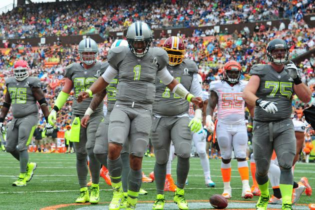 Tolbert, Panthers Make Impression in Pro Bowl