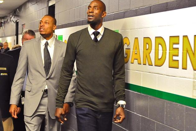 Kevin Garnett: Paul Pierce and I Will 'Always Bleed Green'