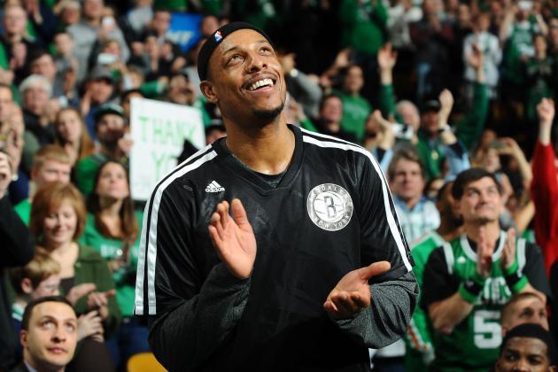 Paul Pierce: I 'Never Wanted to Leave' Boston Celtics