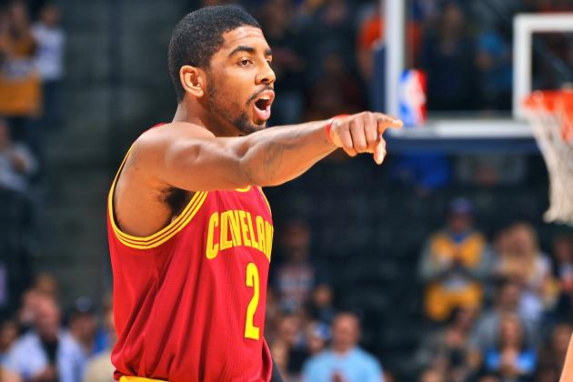 Anonymous NBA General Managers Rip Kyrie Irving, Say Cavs Star Is 'Pouting'