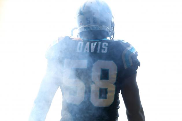 Panthers' Thomas Davis Aims Others at Bigger Things