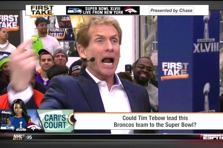 ESPN First Take Is Again Debating If Tebow Could Lead a Team to the Super Bowl