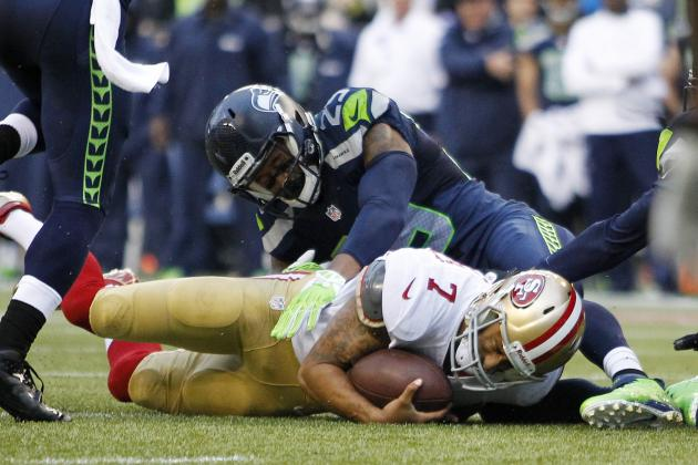 Seahawks' Thomas on Kaepernick: 'That's a Special Player Right There'