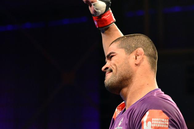 Rousimar Palhares to Fight for Welterweight Title at WSOF 9 vs. Steve Carl