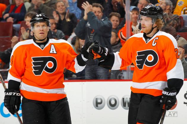 Key Stretch in Flyers' Playoff Bid