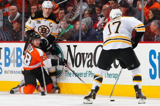 Giroux Calls Flyers' 6-1 Loss to Bruins' Embarrassing'