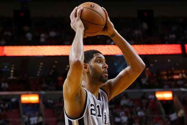 San Antonio's Tim Duncan Moves into 7th Place on NBA's All-Time Blocks List