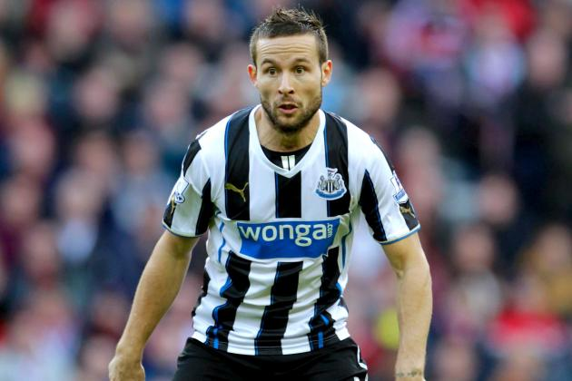 Newcastle and PSG Reportedly Agree on Deal for Yohan Cabaye