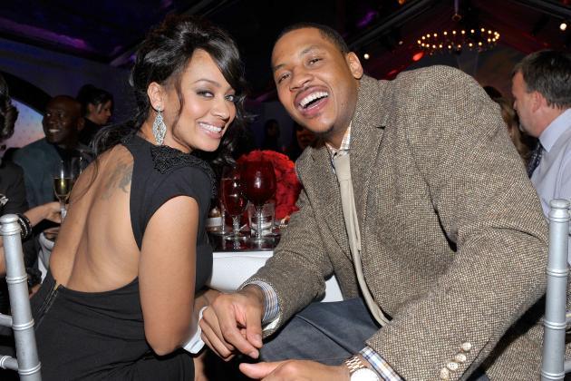 Carmelo Anthony's Wife La La Speaks on Knicks Star's Impending Free Agency