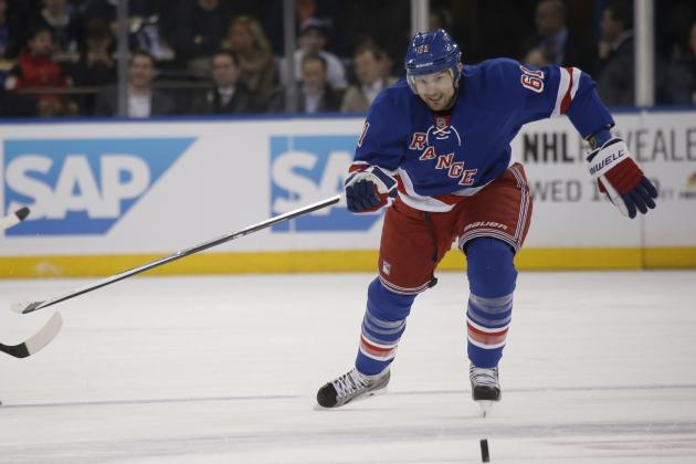 What Rick Nash's Hot Streak Means for New York Rangers