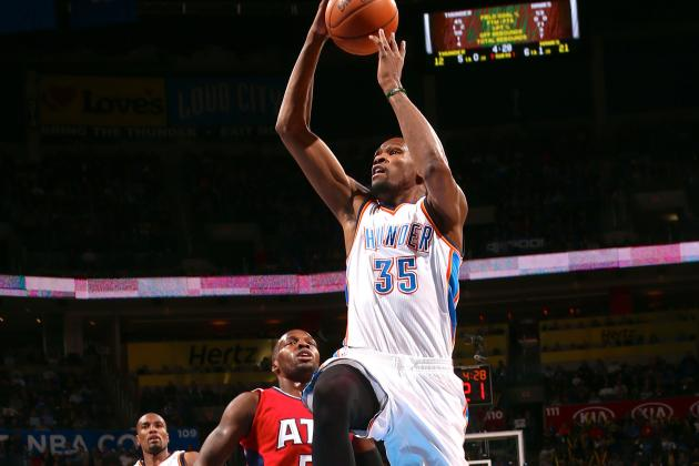 Kevin Durant Caps 11th Straight 30-Point Game with Game-Winner