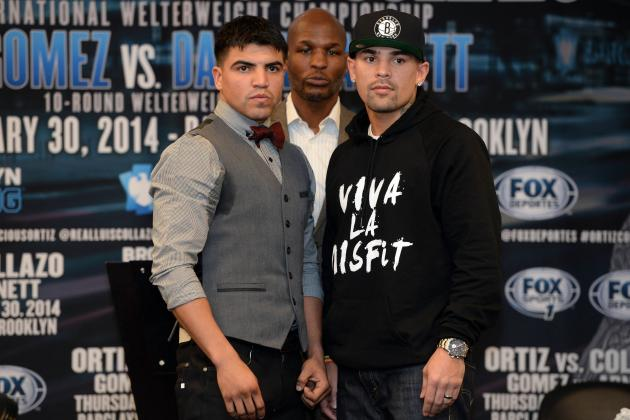 Victor Ortiz and Luis Collazo Both Fighting for 1 Last Shot at Stardom