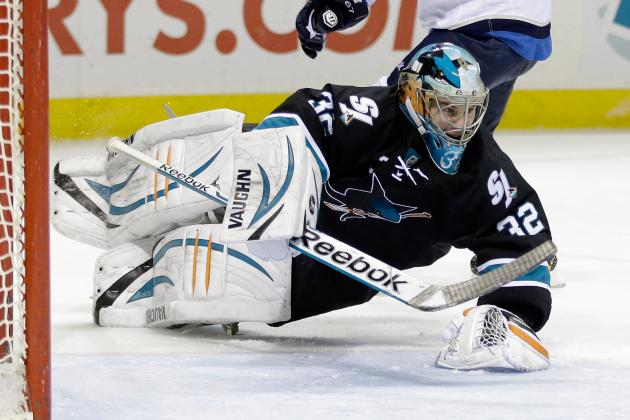 Stalock Sets Sharks' Record for Shutout Streak