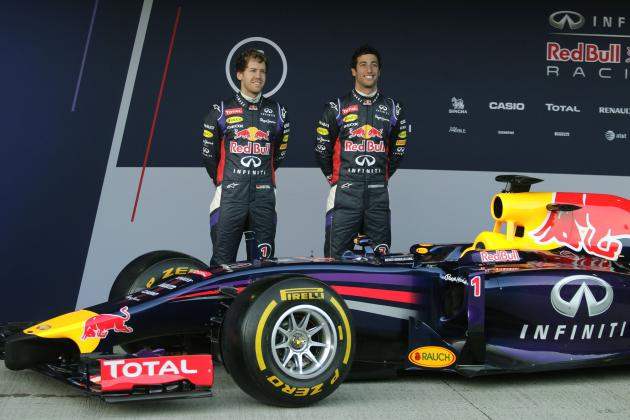 Red Bull Car Launch: F1 Champions Release Images and Details of New RB10