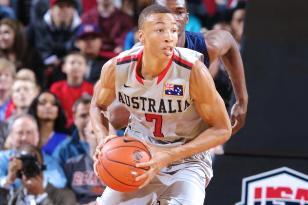 Australian Point Guard Dante Exum Will Declare for 2014 NBA Draft