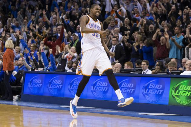 Kevin Durant Making History During 30-Plus Point Scoring Tear