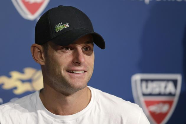 Andy Roddick Does Terrible Jay Z Impression After Watching Grammys