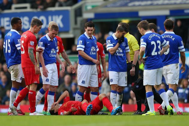 Liverpool vs. Everton: Live Player Ratings for Both Merseyside Teams