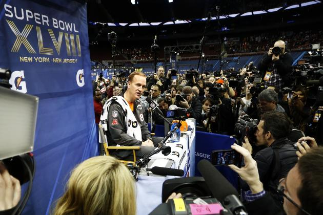 Super Bowl Media Day 2014: Live Updates, Interviews and Highlights for Broncos