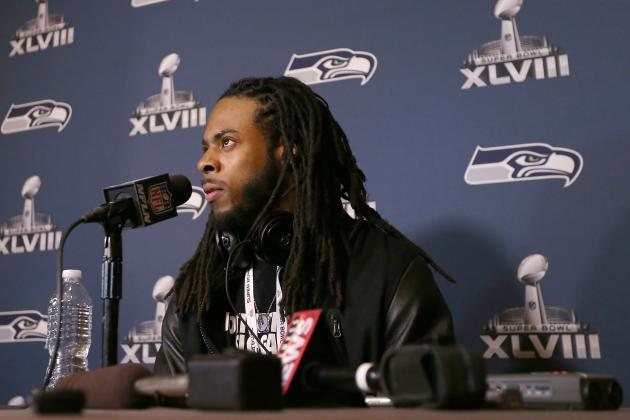 Super Bowl Media Day 2014: Live Updates, Interviews and Highlights for Seahawks