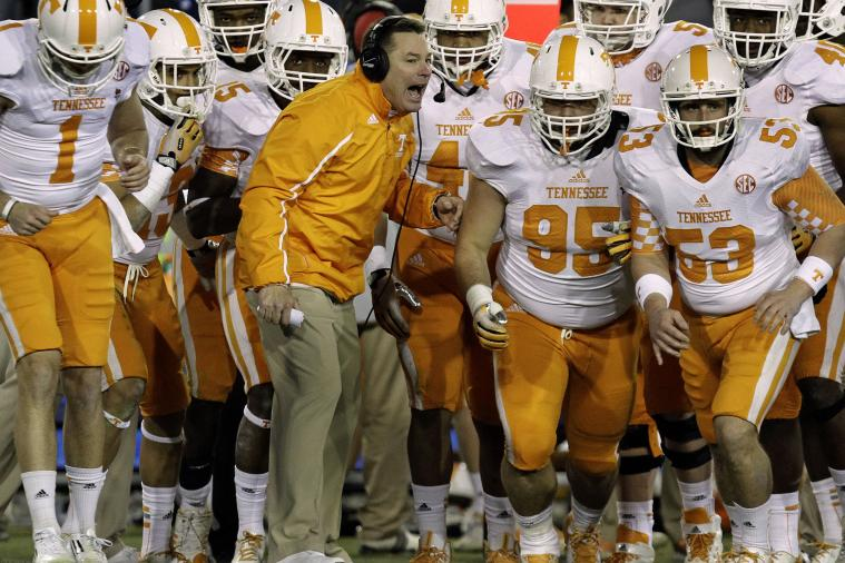 Tennessee Head Coach Butch Jones Is Quietly Dominating Recruiting Trail